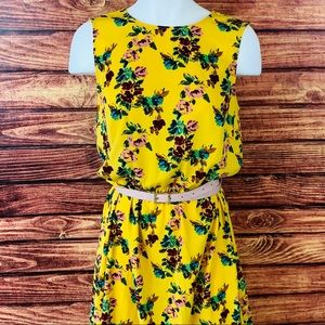 ~A New Day~ Small Bright Yellow Dress